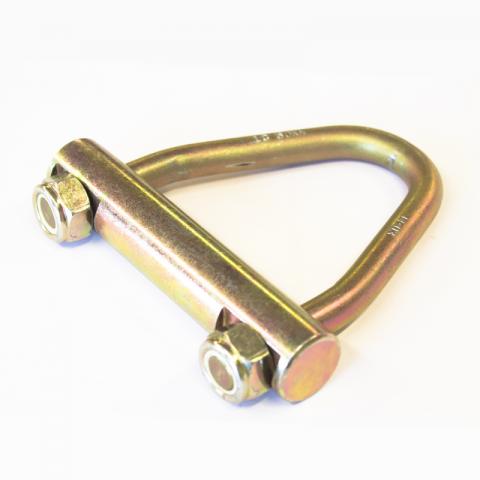Концевик треугольный без крюка 75 мм