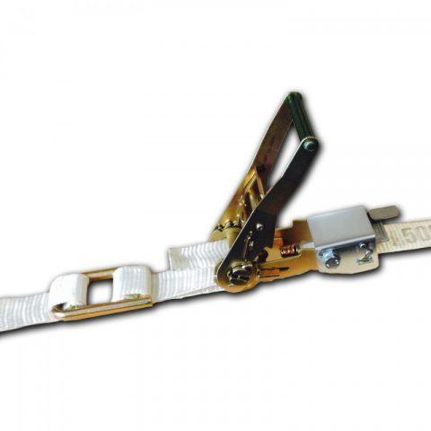 Средства для пакетирования и крепления грузов (одноразовые).  Одноразовая стяжная система.