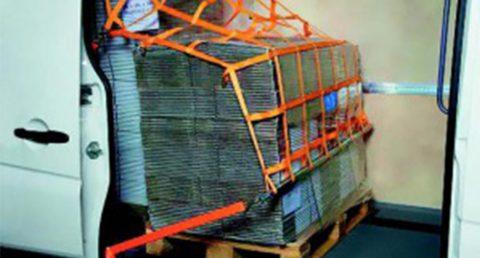 КС 3. Сети крепления грузов для грузовых автомобилей и автомобилей с открытой платформой