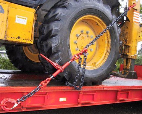 Цепная стяжка для крепления грузов