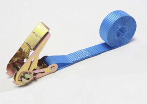 Ремень стяжной для крепления груза 0,4/0,8тн с крюками