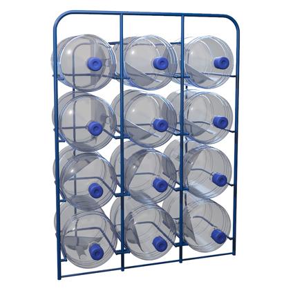 Стелажи стационарные для 19-литровых бутылей с водой