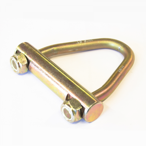 Концевик треугольный без крюка 100 мм