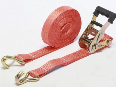 Ремень стяжной для крепления груза 1,5/3,0тн с крюками / 12000 мм